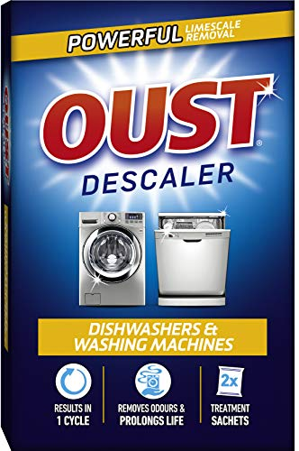 Price comparison product image Oust Dishwasher And Washing Machine Descaler (2 Sachets)