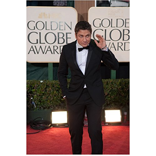 Butler Globe - Gerard Butler 8x10 Photo 300 How to Train Your Dragon P.S. I Love You On Golden Globe Red Carpet kn