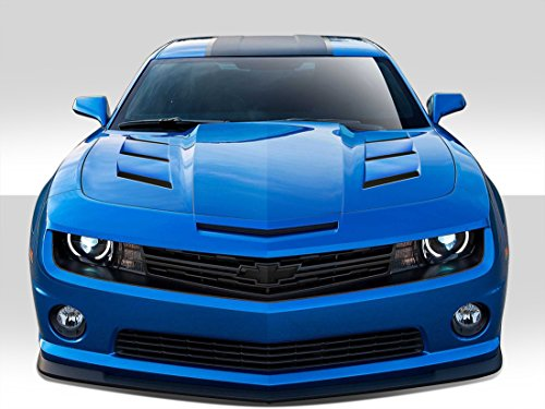 Duraflex Replacement for 2010-2015 Chevrolet Camaro TS-1 Hood - 1 Piece