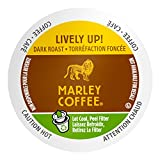 Marley Coffee Single Serve Coffee Capsules, Lively Up, 100% Arabica Coffee, 24 Count
