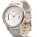 Garmin 010-01597-11 Vivomove Classic - Ww, White with Leather Band (Certified Refurbished)