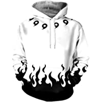 Anime Hoodies For Unisex Naruto Four Generations Of Naruto 3D Color Printing Digital Printing Design Hooded Sweater
