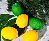 Toopify 20 PCS Artificial Lemons and Limes, Fake