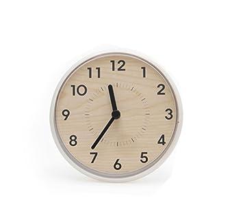 Sejong Horloge Murale de Salle de Bain de Cuisine étanche Adsorption ...