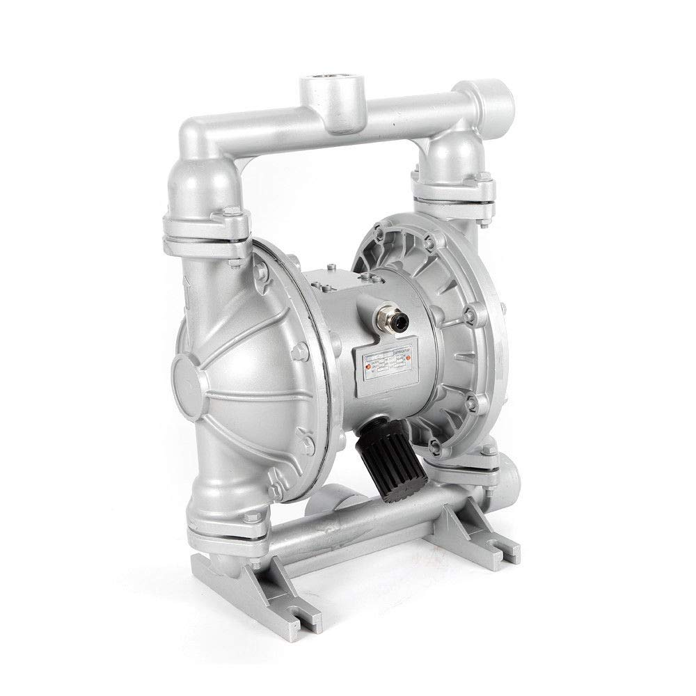 Air-Operated Double Diaphragm Pump,QBK-25L Aluminum Alloy 1 inch Inlet Outlet (USA Stock)