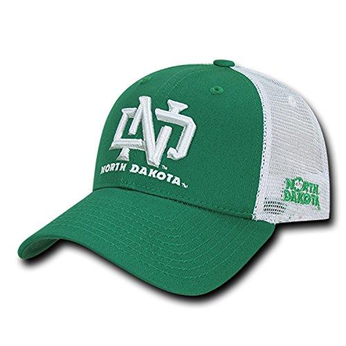 BHFC University of North Dakota UND Fighting Sioux NCAA Structured Trucker Mesh Snapback Baseball Cap Hat]()