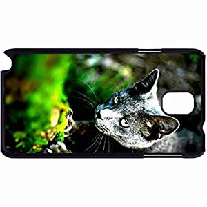 New Style Customized Back Cover Case For Samsung Galaxy Note 3 Hardshell Case, Back Cover Design Cat Personalized Unique Case For Samsung Note 3 wangjiang maoyi