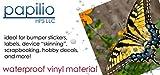 Papilio Inkjet White Vinyl Decal Paper 10 Sheets