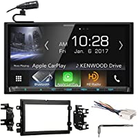 Kenwood DVD Bluetooth Receiver Android/Carplay/Dual USB For 2007 Ford Mustang