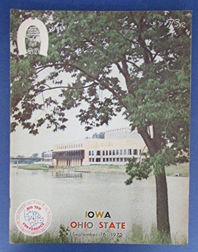 (1972 Iowa vs OSU College Football Official Program)