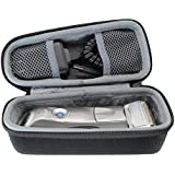 Hard Travel Case Bag for Braun Series 5 7 9 Men's Electric Foil Shaver Razor Trimmer 790cc 7865cc 9290cc 9090cc 5190cc 5050cc by VIVENS