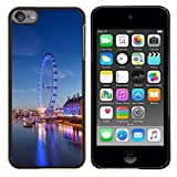 - Ferry Wheel Amusement Park London/ Hard Snap On Cell Phone Case Cover - Cao - For Apple iPod Touch 6 6th Generation