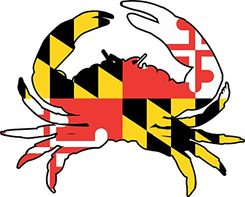 maryland 3 5x4 1 inches sticker decal product image