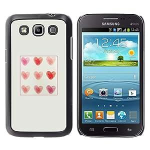 Cubierta protectora del caso de Shell Plástico    Samsung Galaxy Win I8550 I8552 Grand Quattro    Love Pattern Poster @XPTECH