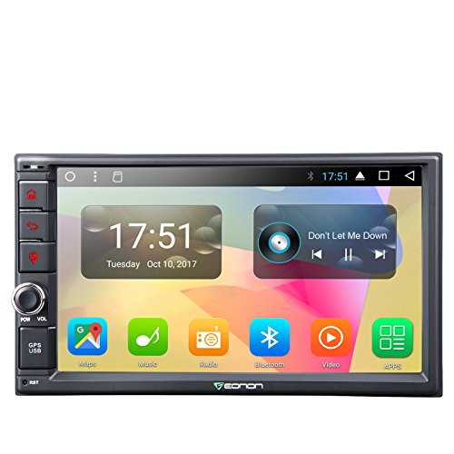 - Eonon GA2167 Car Stereo Radio Universal Double Din, Android 7.1 Nougat 7 Inch Octa-Core Car GPS Navigation System,2GB RAM 32GB ROM Head Unit with Bluetooth,1024x600 HD Screen WiFi(NO CD/DVD)