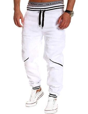HaiDean Pantalones Deportivos De Hombre Holgados De Pantalones ...