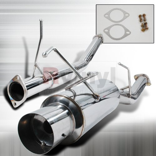 Spec-D Tuning MFCAT3-240SX89 Nissan 240Sx S13 Se Xe Base Turbo Catback Exhaust System