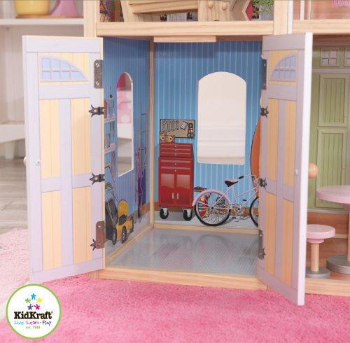 51h4ZbT6BmL - KidKraft So Chic Dollhouse with Furniture