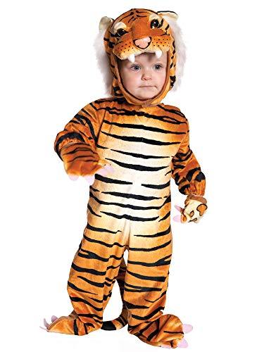 Tiger Toddler Costume Orange Black - Medium ()
