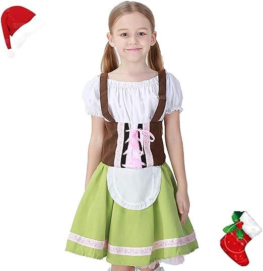 AMMA - Disfraz de Oktoberfest Alemana para niños y niñas, para ...