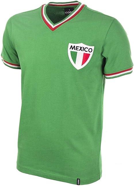 COPA Football - Camiseta Retro México años 1980: Amazon.es ...