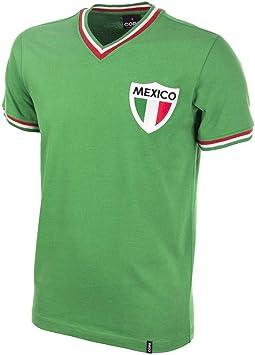 COPA Football - Camiseta Retro México años 1980: Amazon.es: Deportes y aire libre