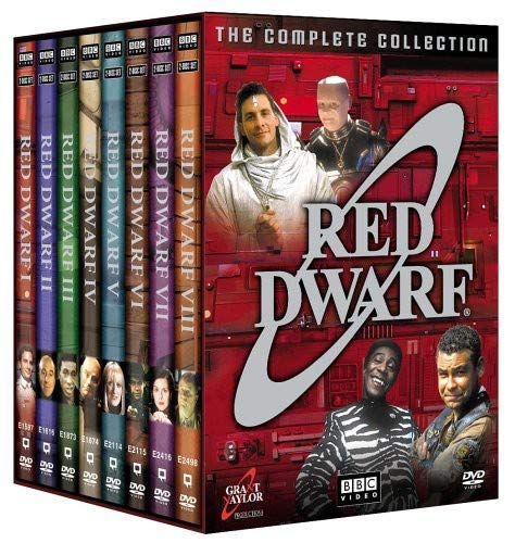 Red Dwarf: The Complete Collection BBC Home Entertainment British TV Movie TV Shows / TV Movie
