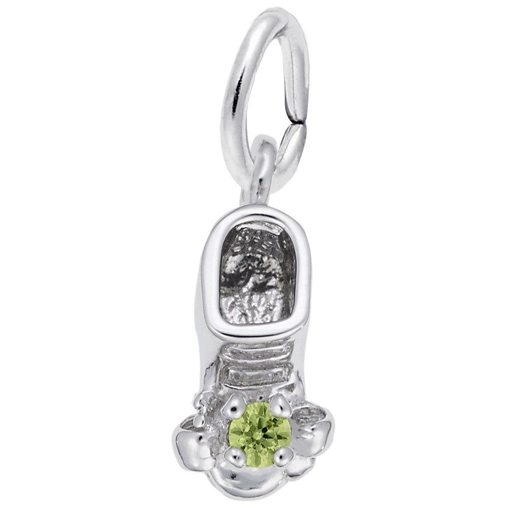 Rembrandt Charms, August Baby Bootie.925 Sterling Silver
