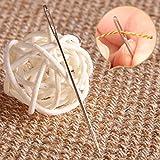30 Large Eye Stitching Needles 1.6'' to 2.4'' Sizes