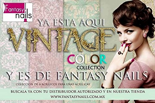 Fantasy Nails Sinaloa Vintage Acrylic Powder set of 6 Acrylic Dip System