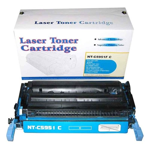 Generic Compatible Toner Cartridge Replacement for HP Q5951A ( Cyan ) Photo #2