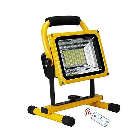 CWC Recargable 500W LED del Trabajo, sin Cuerda Portable del ...