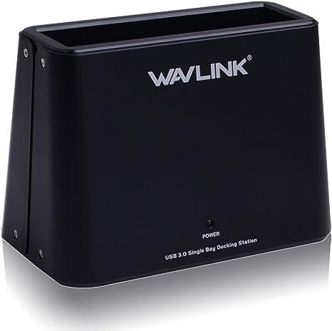 WAVLINK - Base de conexión para Disco Duro Externo (USB 3.0 a SATA ...