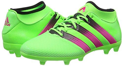 Homme Noir Primemesh Ag Rose Ace 3 Adidas Football Chaussures Rosimp Fg Vert Pour Negbas versol De 16 wSvwqntRO