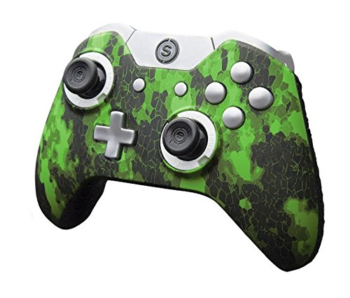 SCUF Infinity1 Digital Camo Green Controller for Xbox One and PC (Scuf Controllers Xbox 1)