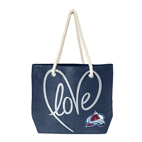 Colorado Avalanche Paper - NHL Colorado Avalanche Rope Tote Bag