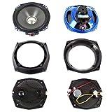 J&M Rokker XXR 7.25'' Front Speakers for 1998-2013 Harley-Davidson Electra Glide, Street Glide and Trike models - HCRK-7252GTM-XXR