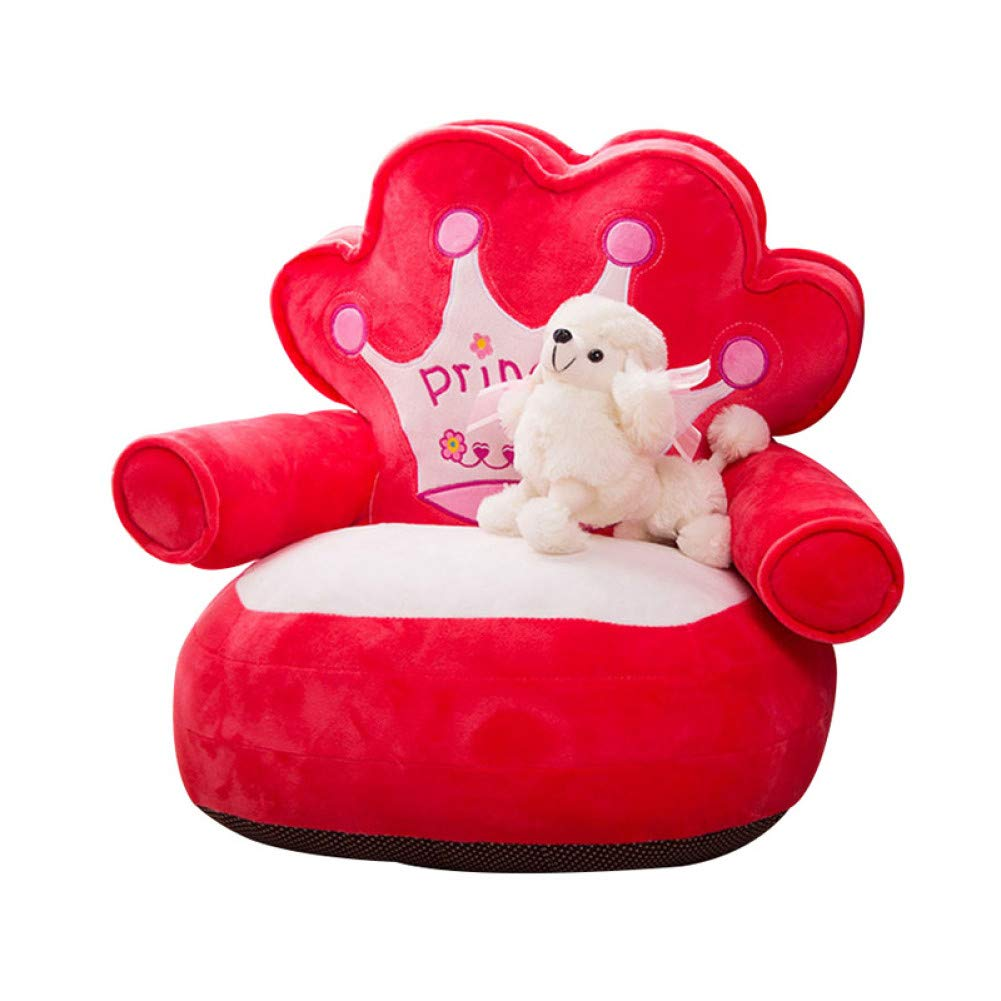 Red WWSSXX Dog Beds Warm Princess Puppy Bed Soft Pp Cotton Padded Dog Sofa Bed