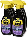 Invisible Glass 92186-6PK Premium Glass Cleaner with Rain Repellent, 132 fl. oz, 6 Pack