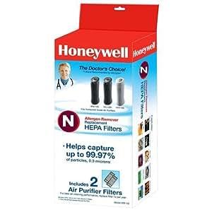Honeywell True HEPA Replacement Filter N, 2 Pack
