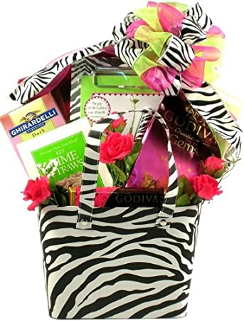 Amazon Com Wild And Cute Valentine S Day Gift Basket For Her