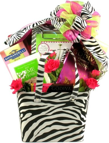 Gift Basket Village Wild About You Gift Basket for Her