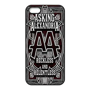 Danny Store 2015 New Arrival TPU Rubber Coated Phone Case Cover for iPhone 5 / 6 4.7 - Asking Alexandria