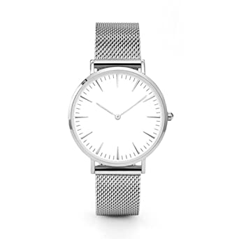 Hotkey® Watch, Womens Watch, Stainless Steel Analog Alloy Quartz Wrist Watch Retro Exquisite