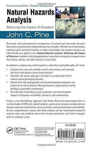 Natural Hazards Analysis: Reducing the Impact of Disasters