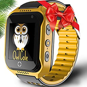 Smart Watch For Kids Best Phone Watch Birthday Holiday Gift With GPS Tracker Camera Touchscreen SOS for iPhone Android Smartphone Pedometer for Children Boys Girls