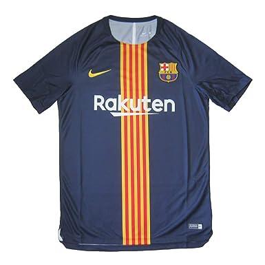 f27cb98d5d9 Amazon.com: Nike Men's Soccer F.C. Barcelona Dri-Fit Squad Training ...