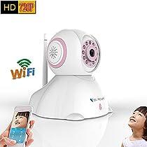 Vstarcam HDSeries 720P WiFi Wireless IP Security Surveillance Camera System C7842WIP Pink