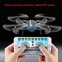 SUKEQ 2.4G 4CH Altitude Hold Folding Pocket Selfie RC Quadcopter Drone With WIFI FPV Camera