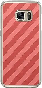 Loud Universe Samsung Galaxy S7 Edge Love Valentine Files Valentine 79 Transparent Edge Case - Red/Pink